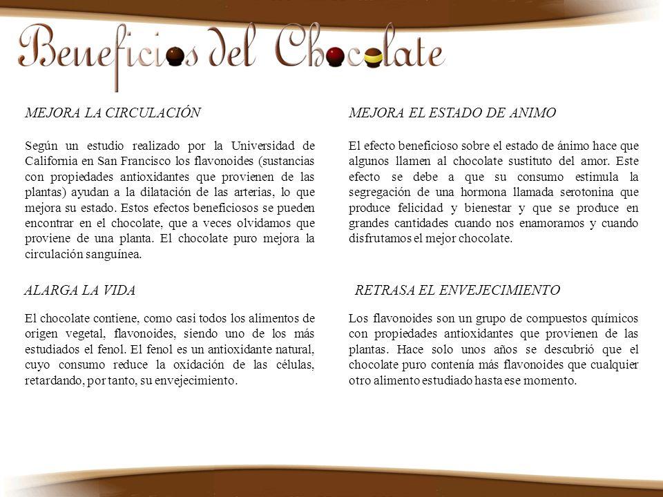El chocolate es un alimento muy completo desde el punto de vista nutricional y de fácil, además de agradable, digestión.