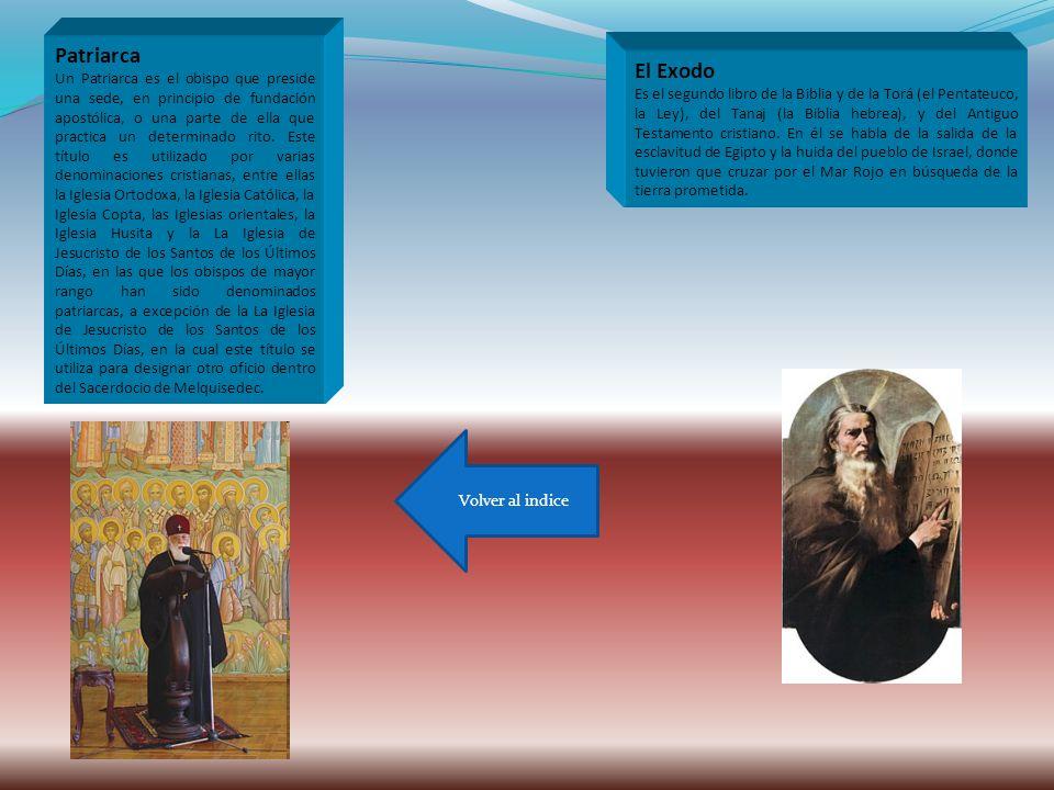 Patriarca Un Patriarca es el obispo que preside una sede, en principio de fundación apostólica, o una parte de ella que practica un determinado rito.