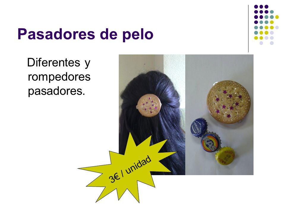 Pasadores de pelo Diferentes y rompedores pasadores. 3 / unidad