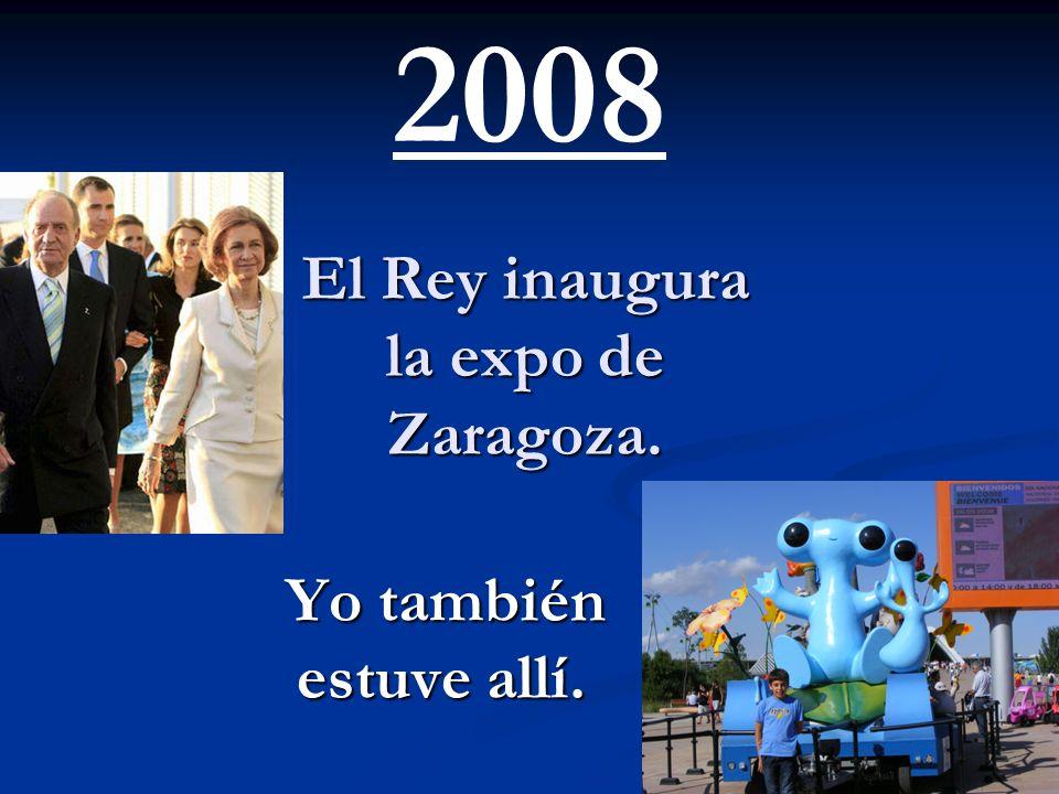 El rey en un impulso dijo a Hugo Chávez ``¿Por qué no te callas?´´. Yo le di las mi apoyo lo mas cerca que pude. 2007
