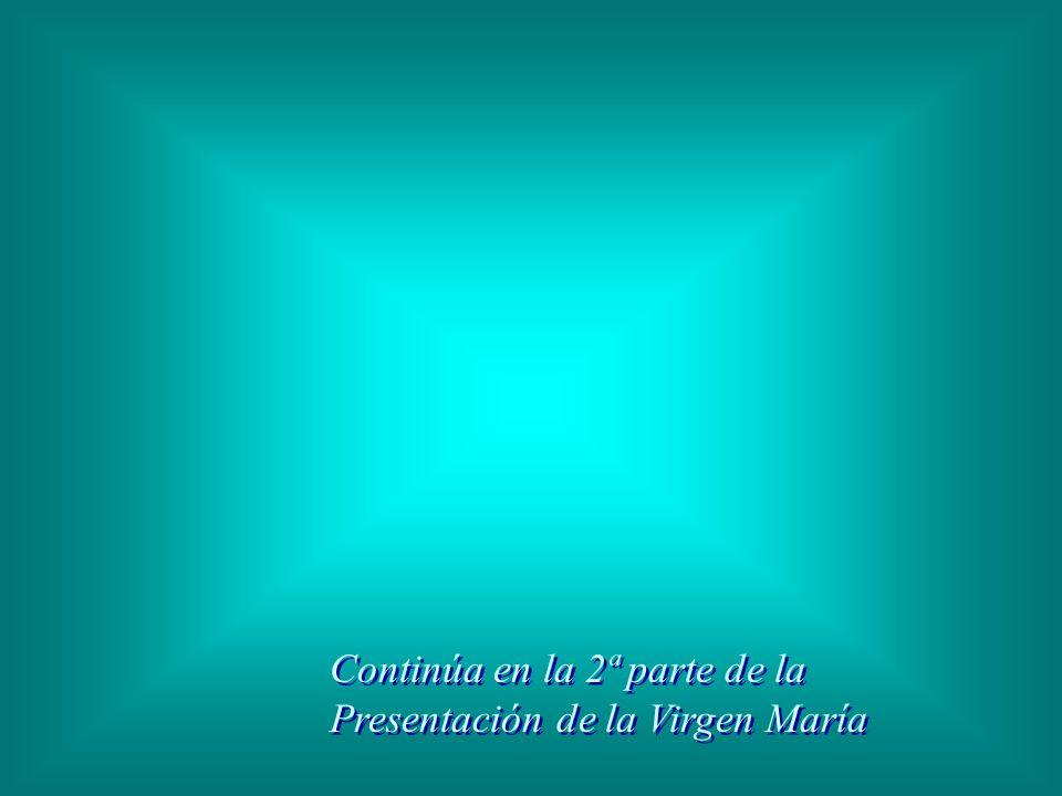 Continúa en la 2ª parte de la Presentación de la Virgen María