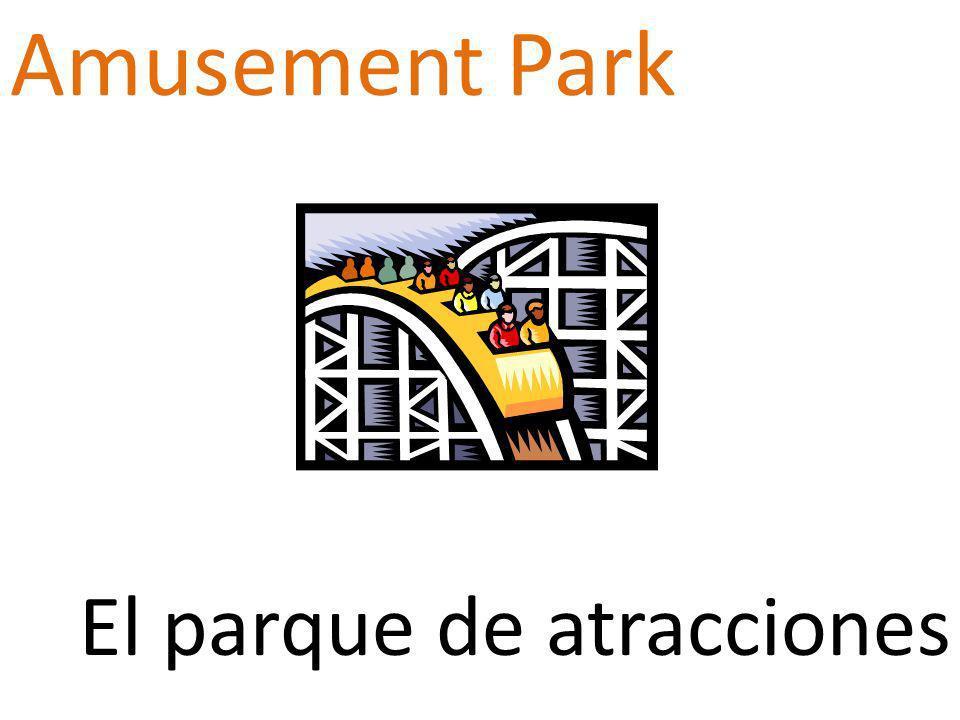 Amusement Park El parque de atracciones