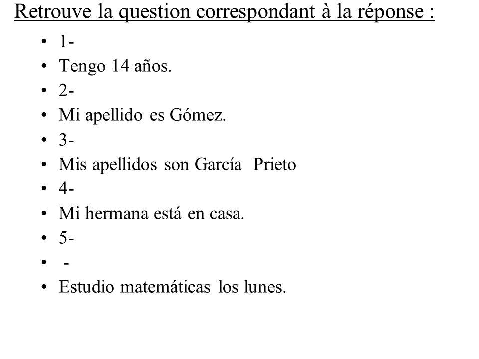 6- Sí, hablamos español.7- Mi amigo es portugués.