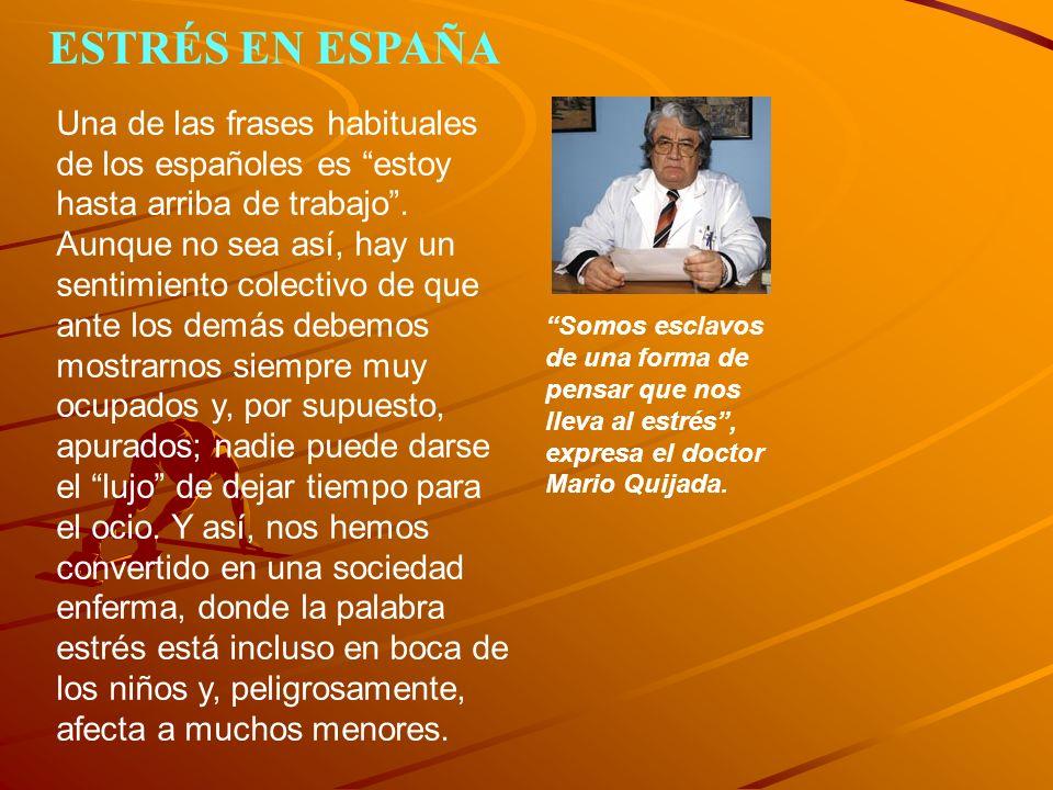 Somos esclavos de una forma de pensar que nos lleva al estrés, expresa el doctor Mario Quijada.