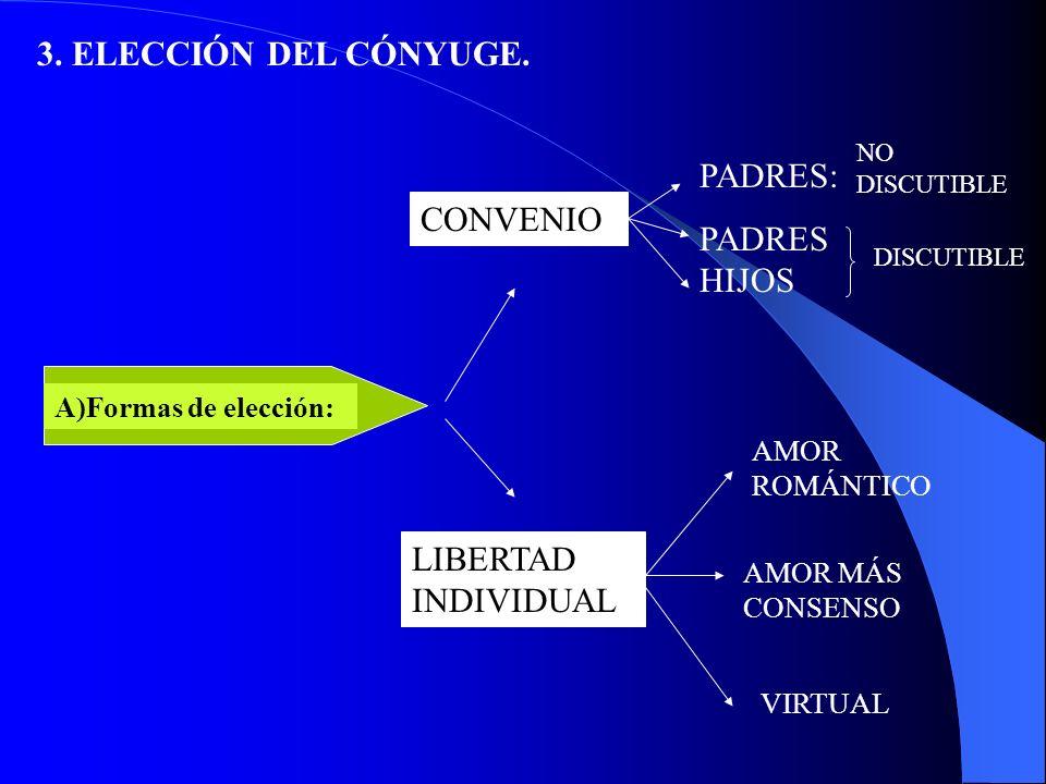 2.FORMACION DE LA PAREJA D) ASPECTO RELACIONAL.
