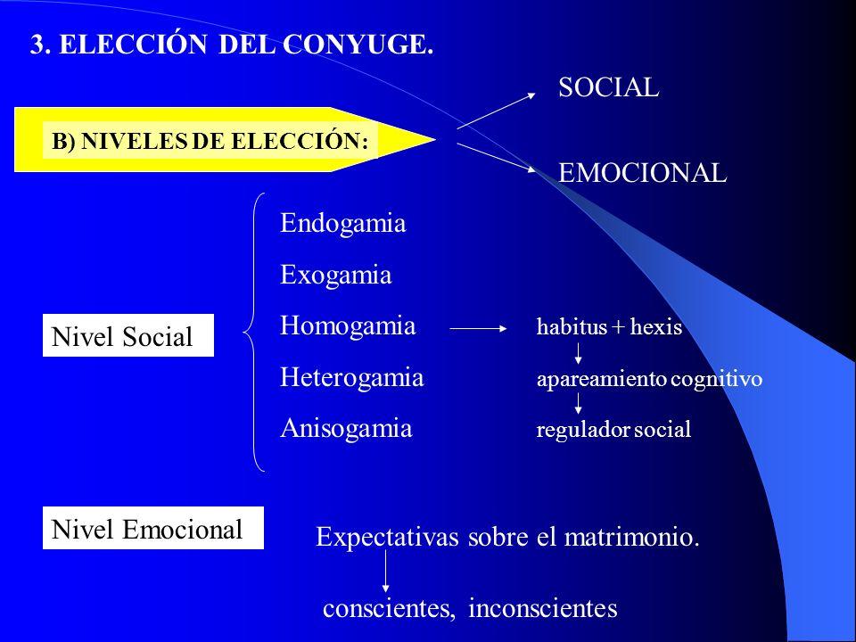 CONVENIO 3.ELECCIÓN DEL CÓNYUGE.