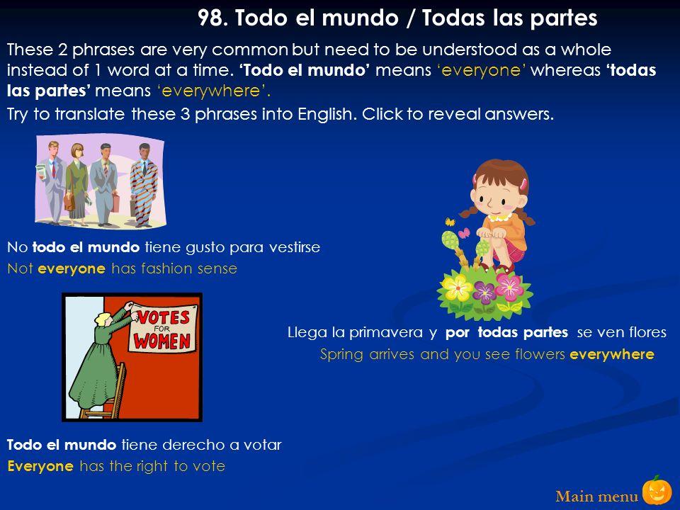 Main menu 97.