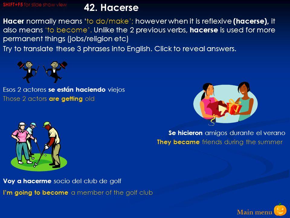 Main menu 41.