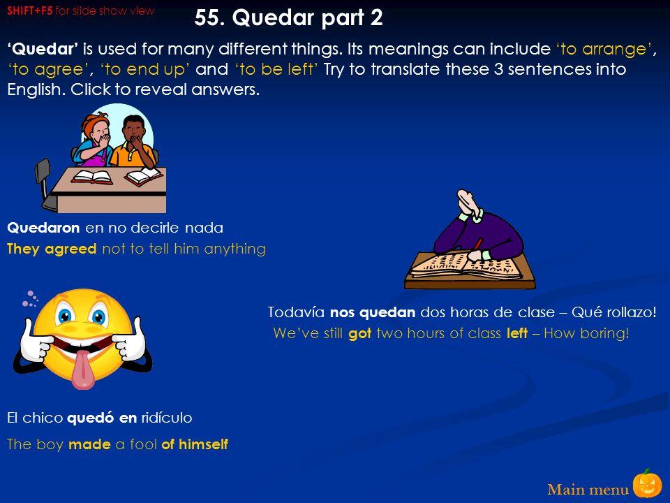 Main menu 54.