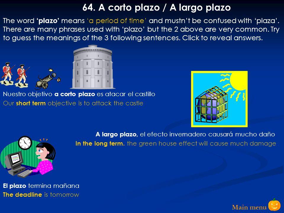 Main menu 63.