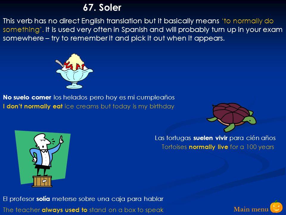 Main menu 66.