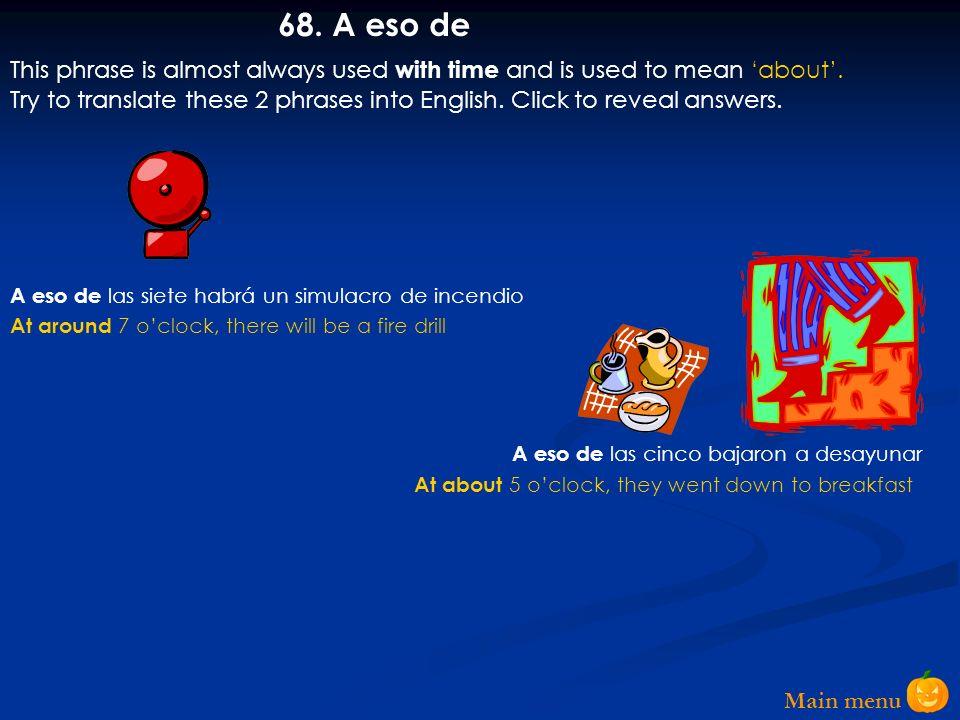 Main menu 67.
