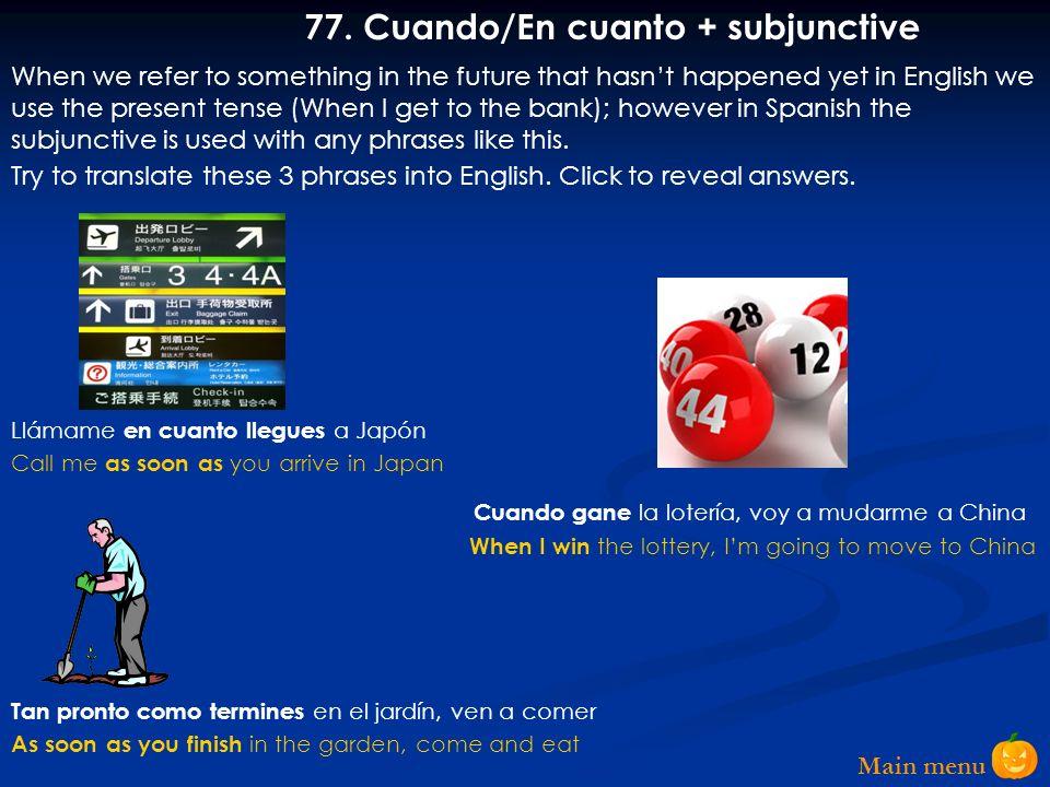 Main menu 76.