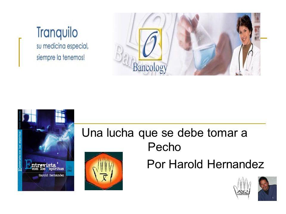 CANCER AL SENO Una lucha que se debe tomar a Pecho Por Harold Hernandez