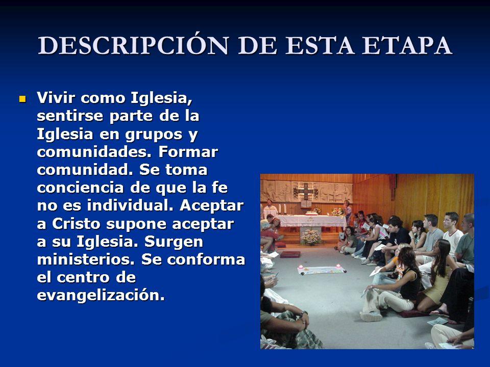 ACTIVIDADES Sectorización.Encuentro de coordinadores de sectores (asambleas, retiros, oración…).