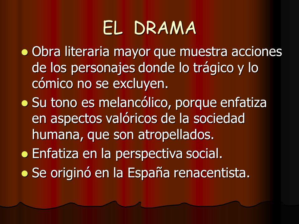 OBRAS MENORES Farsa, sainete La pantomima Las marionetas La ópera Autosacramental Entremés