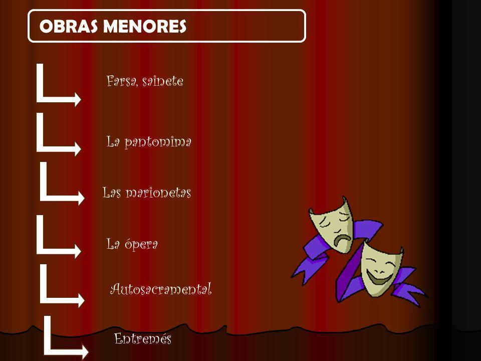 OBRA DRAMÁTICA / OBRA TEATRAL La obra dramática es un texto escrito por un autor llamado dramaturgo.
