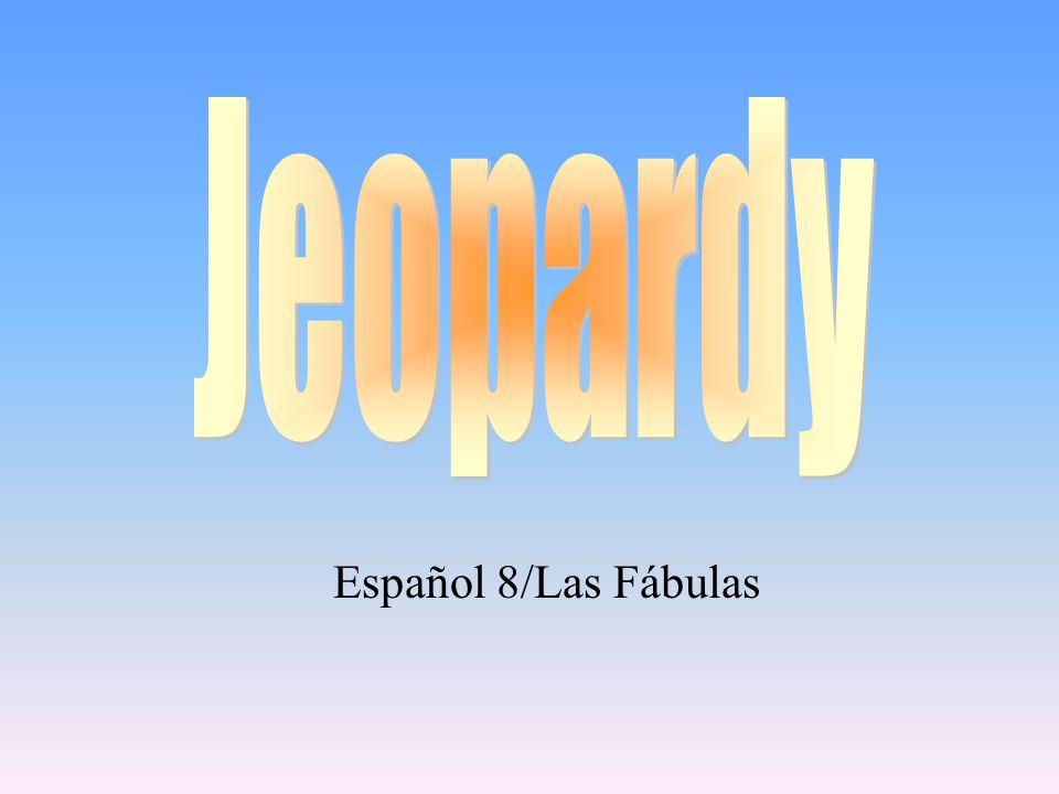 Español 8/Las Fábulas