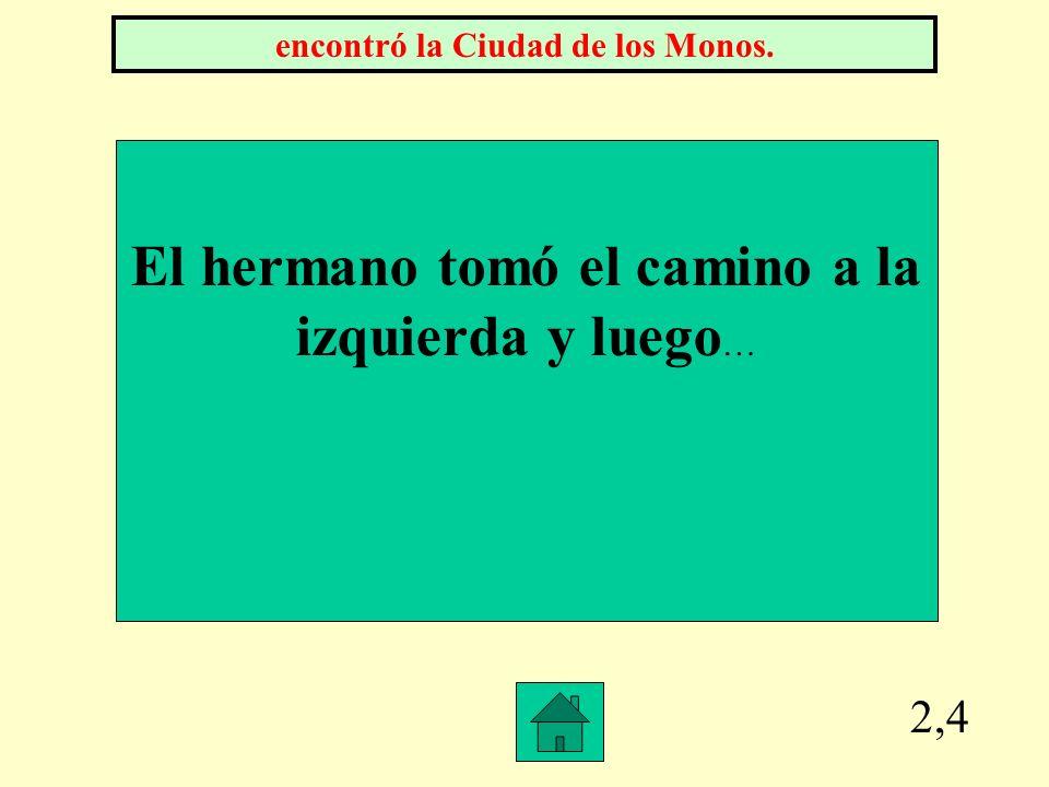2,3 La fábula La Ciudad de los Monos se originó en éste país. Colombia