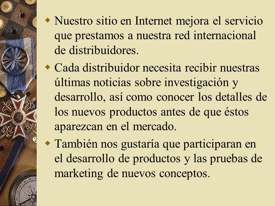 Ejemplo de la declaración de la misión de una compañía dedicada a la manufactura. La empresa dependía en sumo grado de la investigación y el desarroll