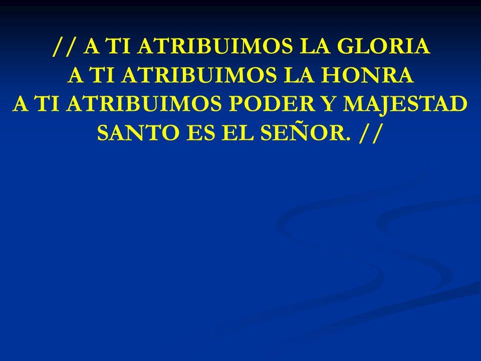 ME GOZARÉ, SEÑOR ME GOZARE, SEÑOR EN TU PRESENCIA ME GOZARE SEÑOR EN TU AMOR ME INVITAS A MORAR EN TU SANTUARIO COBIJADO POR TU AMOR DESCANSARE ///REGOCIJATE EN EL/// Y ALABALE ///EN VERDAD TE AMAMOS SEÑOR/// PROCLAMAMOS TU HONRA