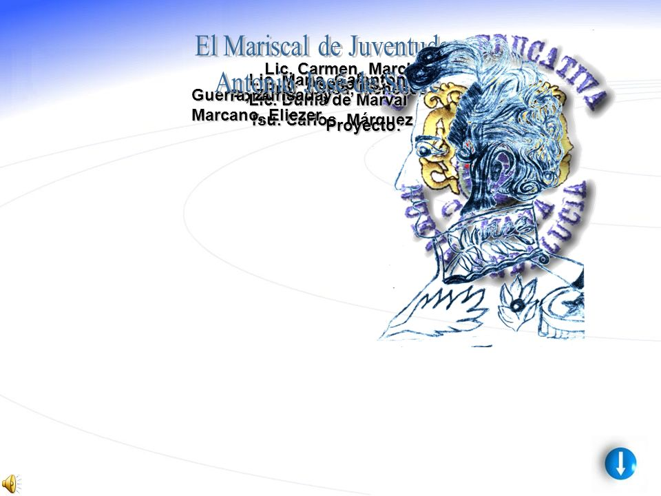Ponentes: Lic.María, Galantón Lic. Dunia de Marval Tsu.