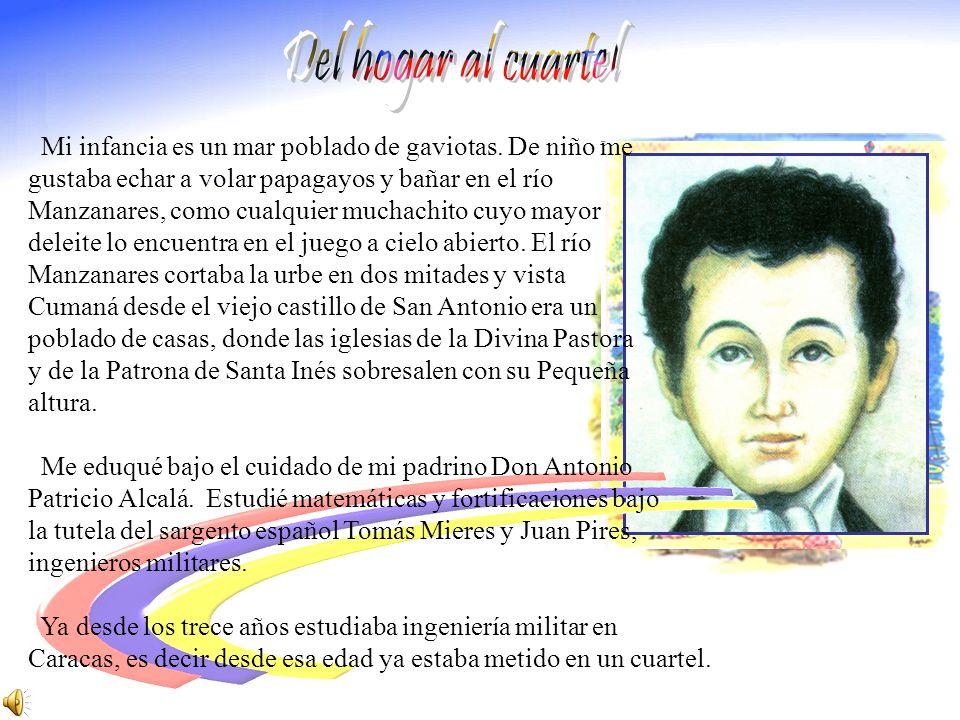 Una de las figuras más destacadas de la emancipación de América Latina, Gran Mariscal de Ayacucho, primer Presidente de Bolivia (1826-1828). Nació en