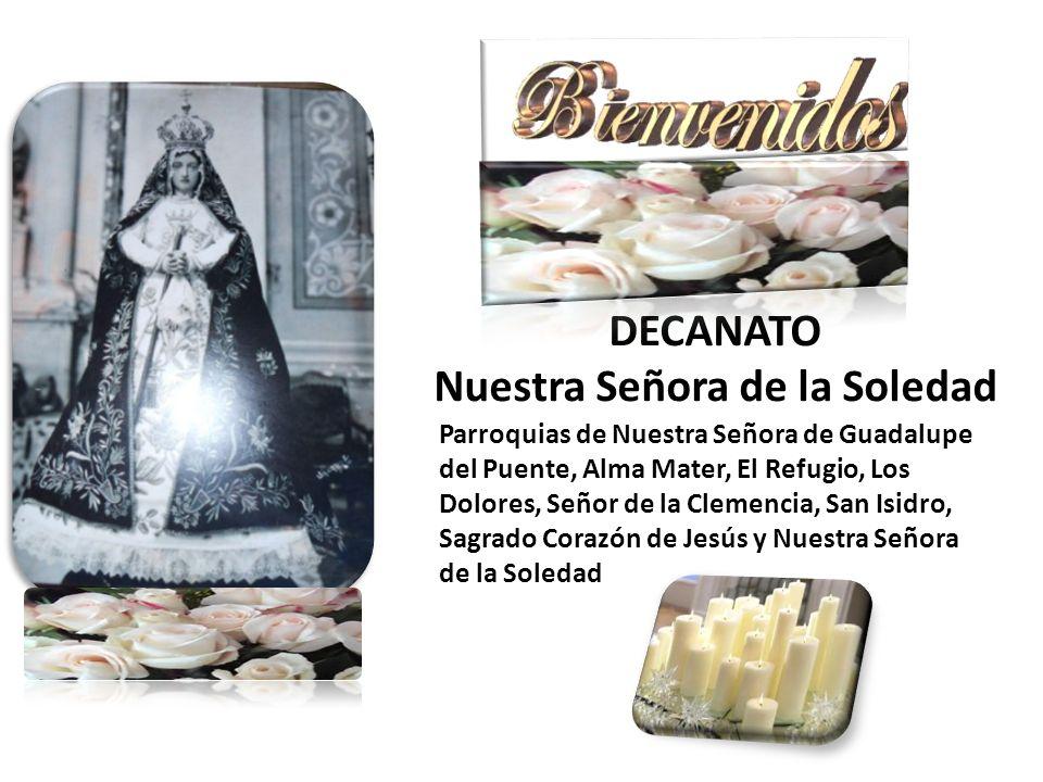 Parroquias de Nuestra Señora de Guadalupe del Puente, Alma Mater, El Refugio, Los Dolores, Señor de la Clemencia, San Isidro, Sagrado Corazón de Jesús