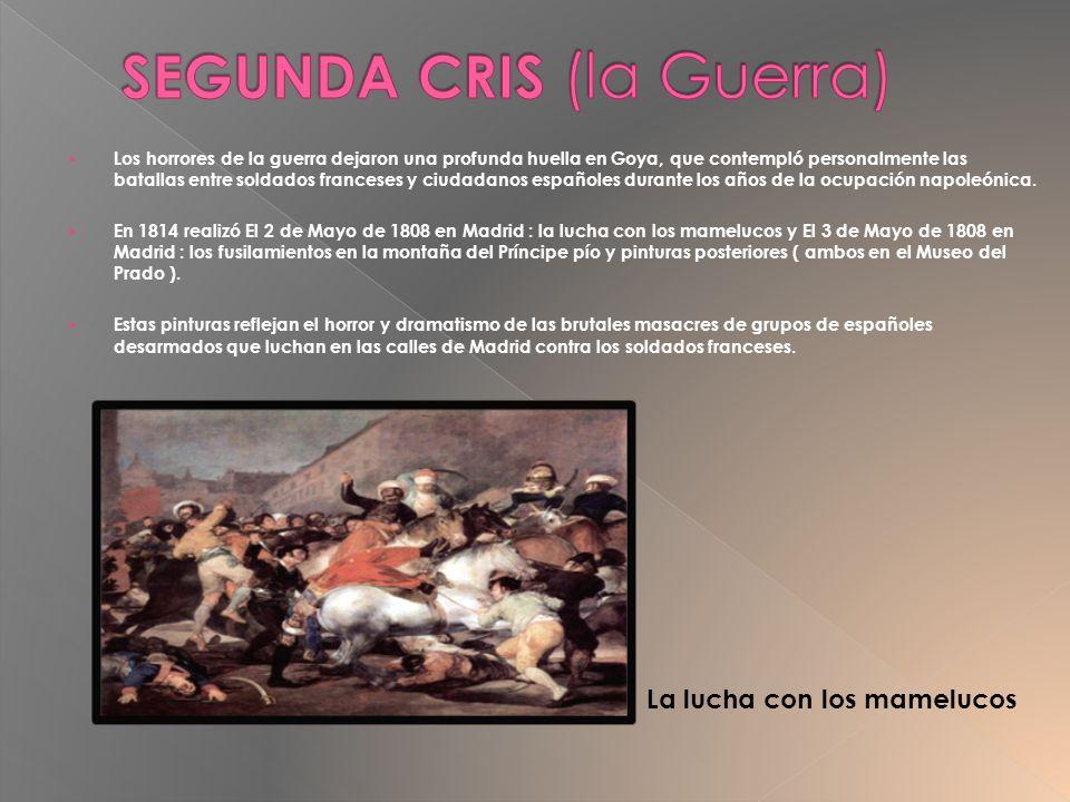Los horrores de la guerra dejaron una profunda huella en Goya, que contempló personalmente las batallas entre soldados franceses y ciudadanos españole