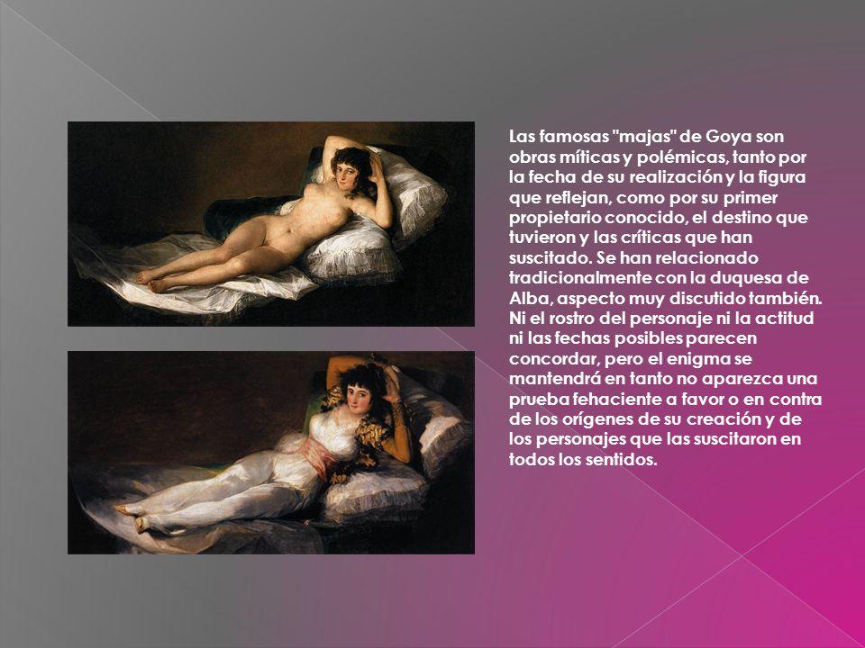 En 1789 Goya fue nombrado pintor de cámara por Carlos IV y en 1799 ascendió en el pintor oficial de Palacio.
