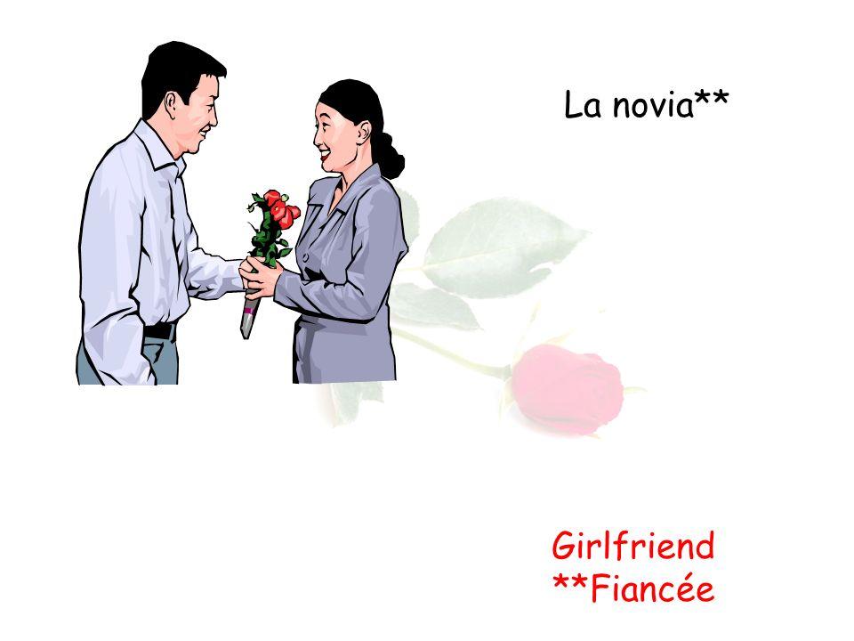 La novia** Girlfriend **Fiancée