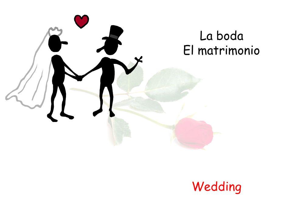 La boda El matrimonio Wedding