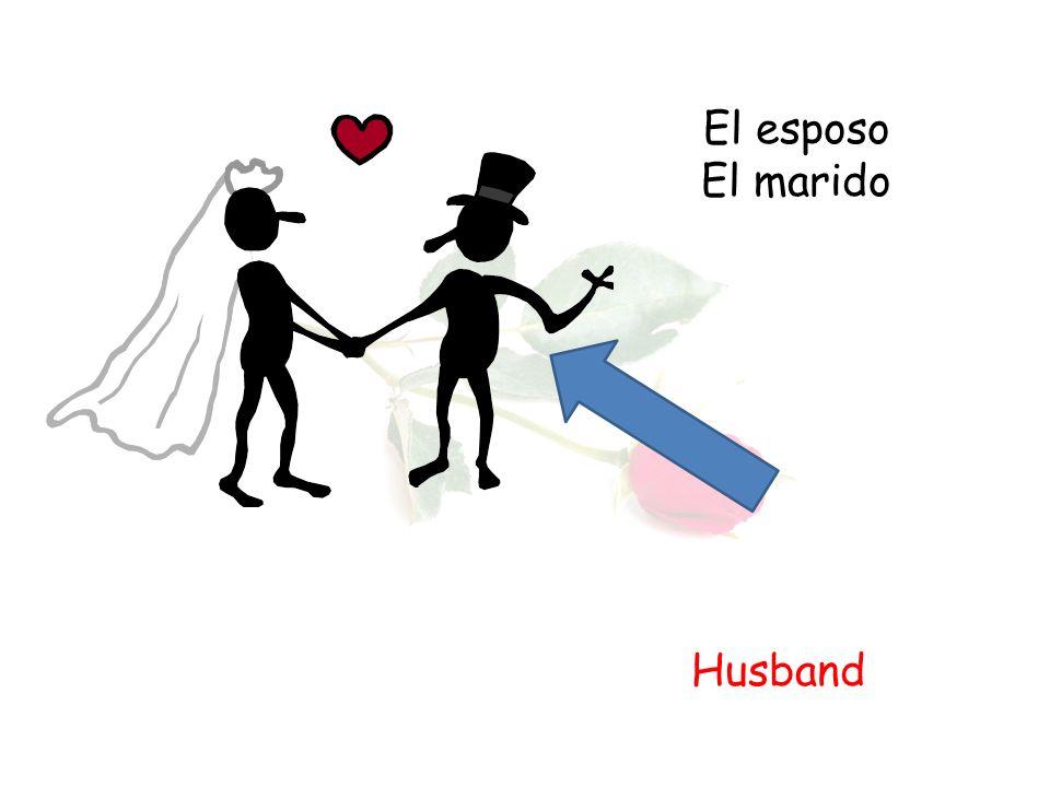 El esposo El marido Husband