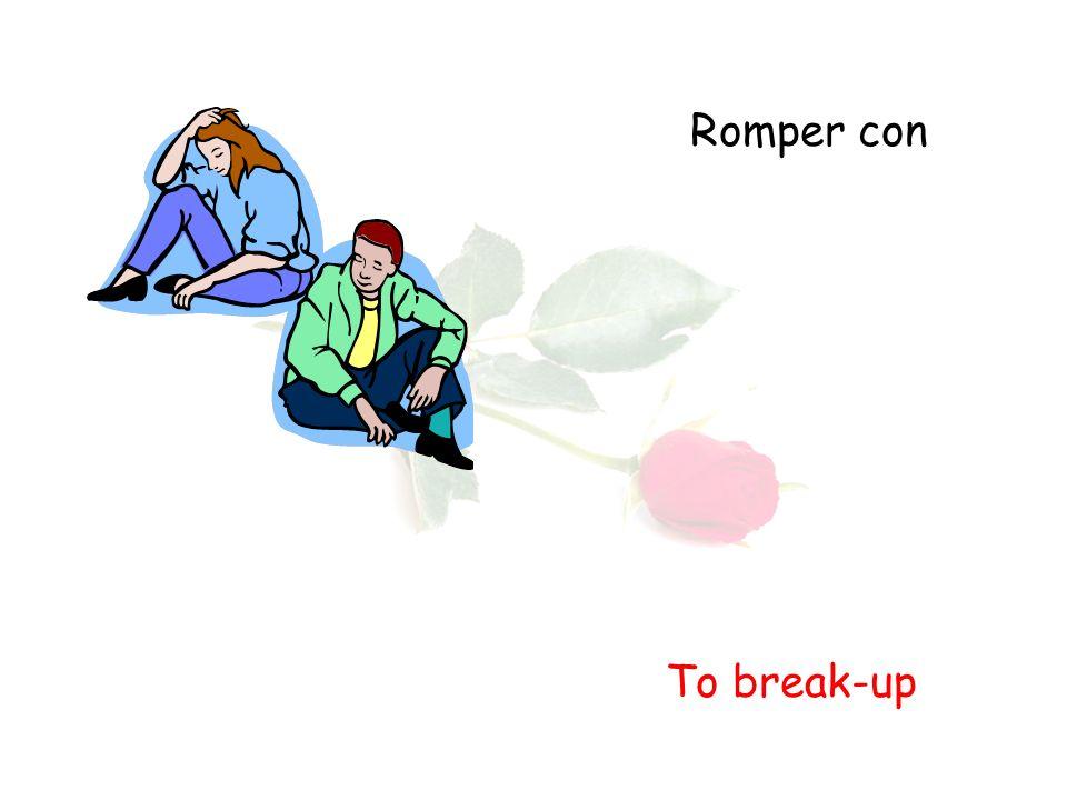 Romper con To break-up
