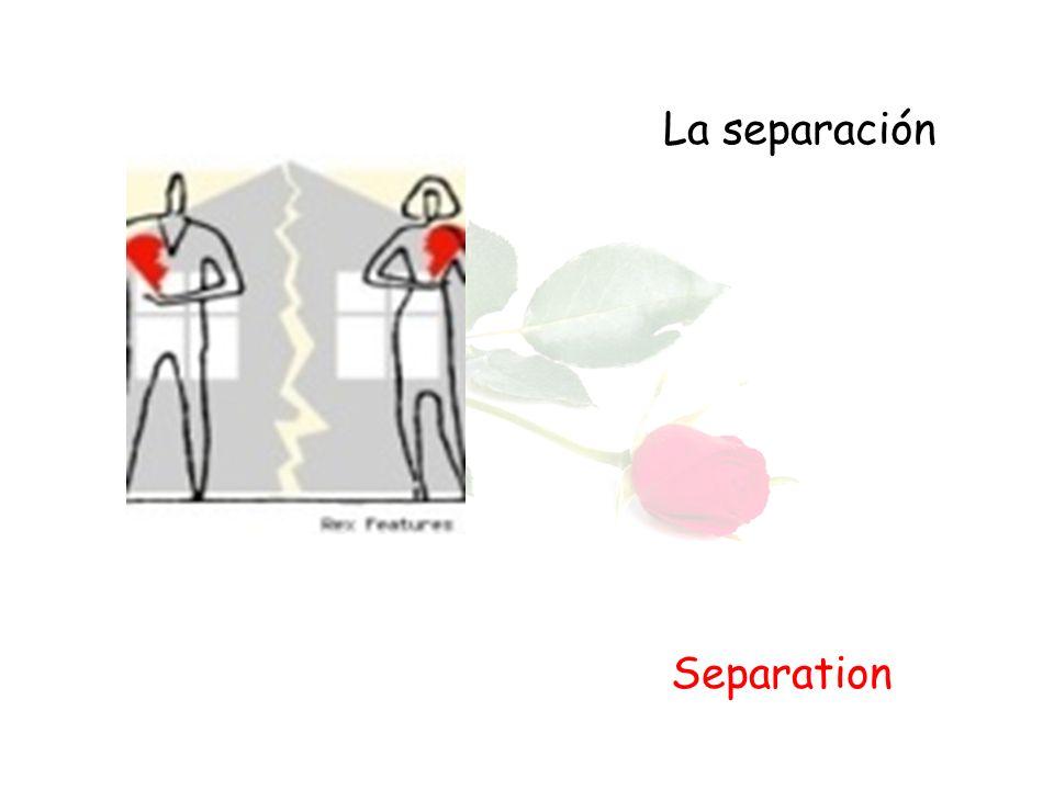 La separación Separation