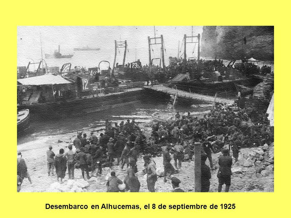 Desembarco en Alhucemas, el 8 de septiembre de 1925