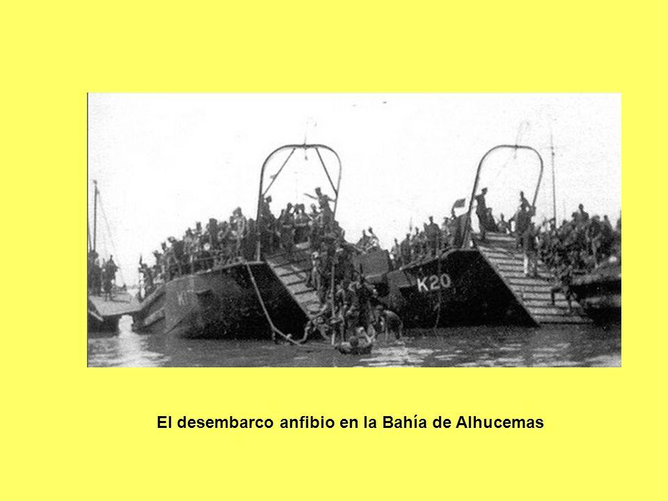 El desembarco anfibio en la Bahía de Alhucemas