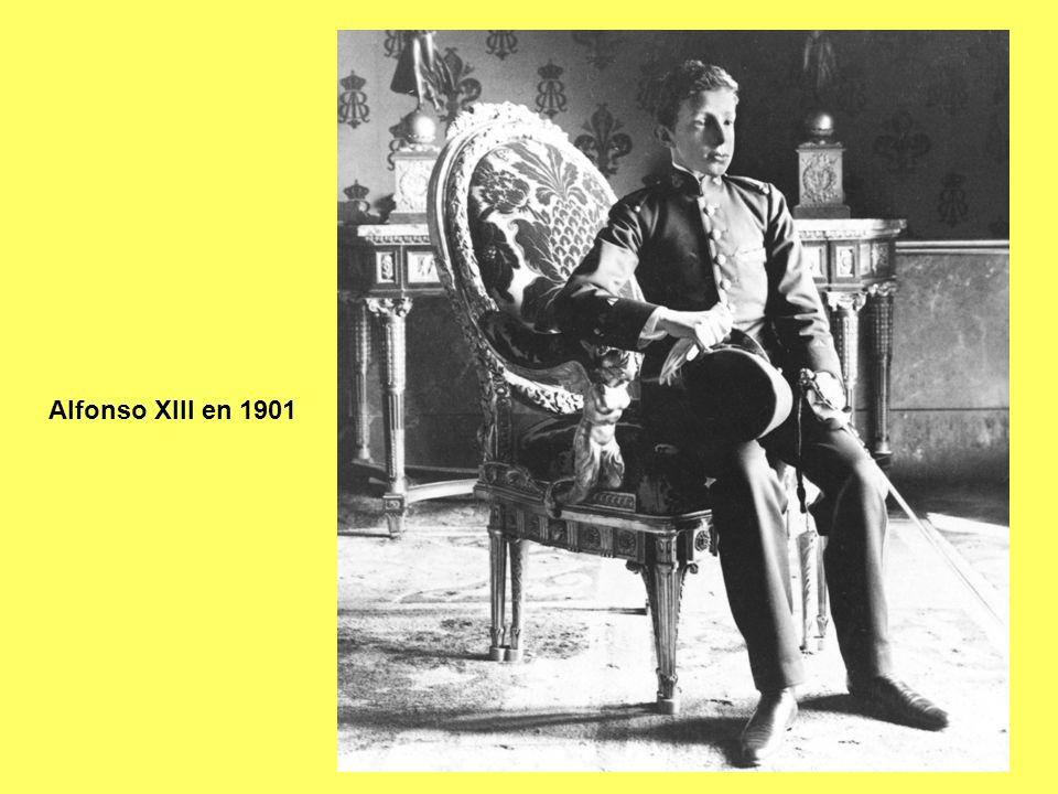 Alfonso XIII, rey a partir de 1902