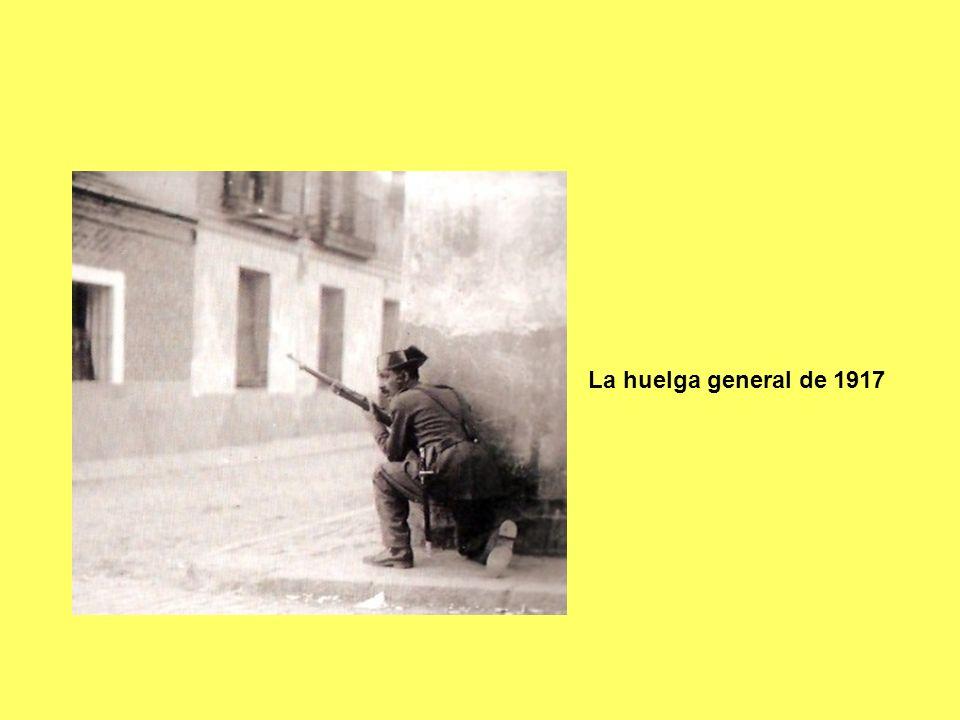 La huelga general de 1917