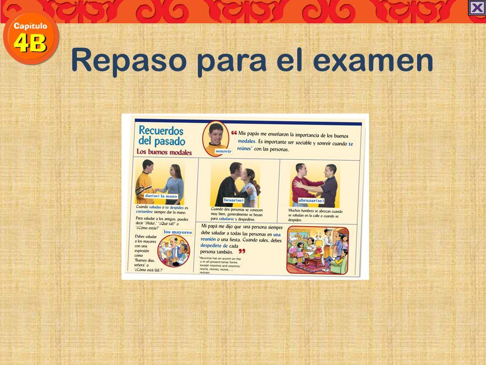 The imperfect tense: describing a situation vs The preterite tense: a completed occurrence Práctica Cuando las clases terminaron, yo mucha hambre.