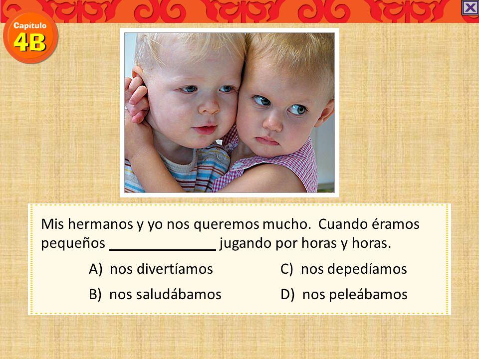 Debes saludar a con una expresión como Buenos días, señora o ¿Cómo está Ud.? A) los bebésC) los jóvenes D) los mayores B) el antiguoD) los mayores El