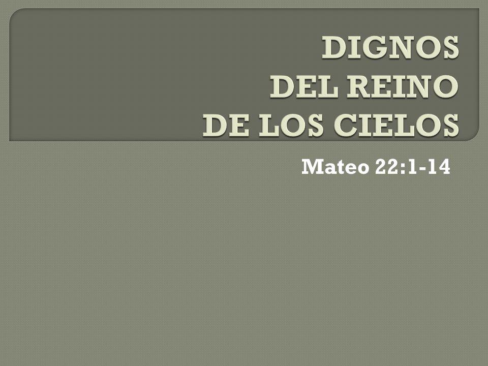 Mateo 22:1-14