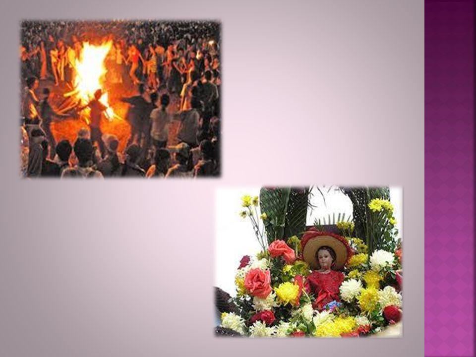 La Noche de San Juan es una festividad de origen muy antiguo que suele ir ligada a encender hogueras o fuegos, ligada con las celebraciones en la que