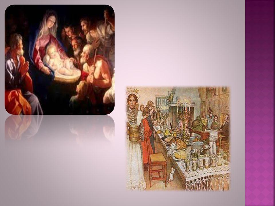 La Nochebuena se celebra la noche del día 24 diciembre. Es la celebración cristiana del nacimiento de Jesús, y las costumbres varían de unos a otros p