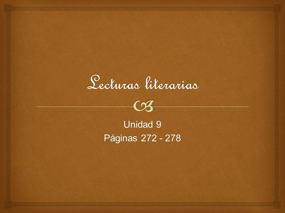 Unidad 9 Páginas 272 - 278