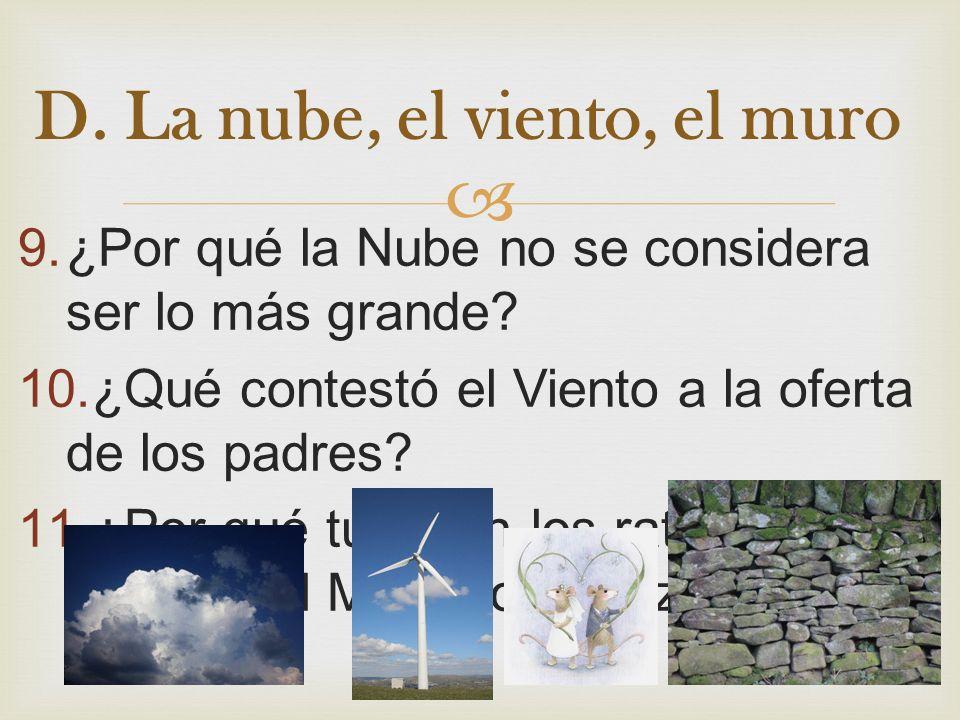 9.¿Por qué la Nube no se considera ser lo más grande.