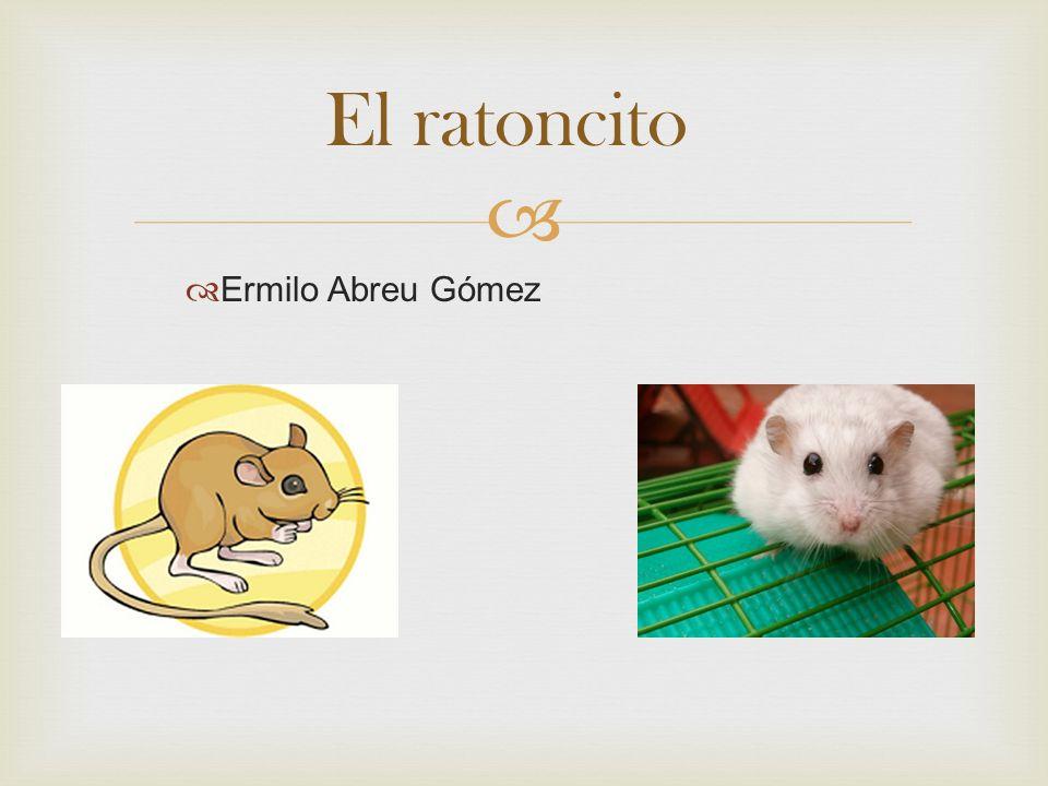 El ratoncito Ermilo Abreu Gómez