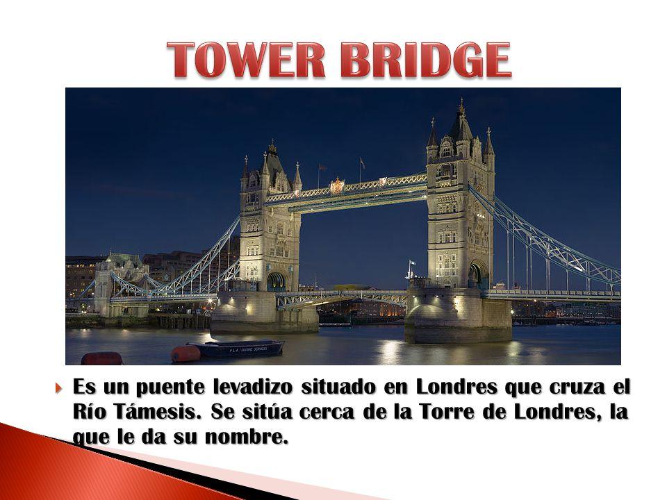 Es un puente levadizo situado en Londres que cruza el Río Támesis. Se sitúa cerca de la Torre de Londres, la que le da su nombre. Es un puente levadiz