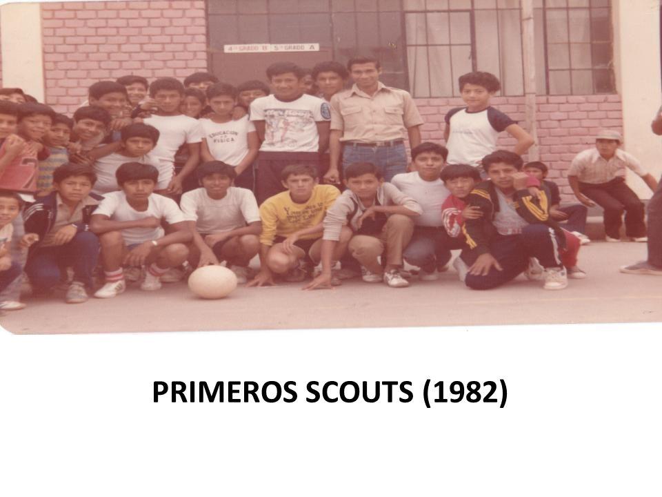PRIMEROS SCOUTS (1982)