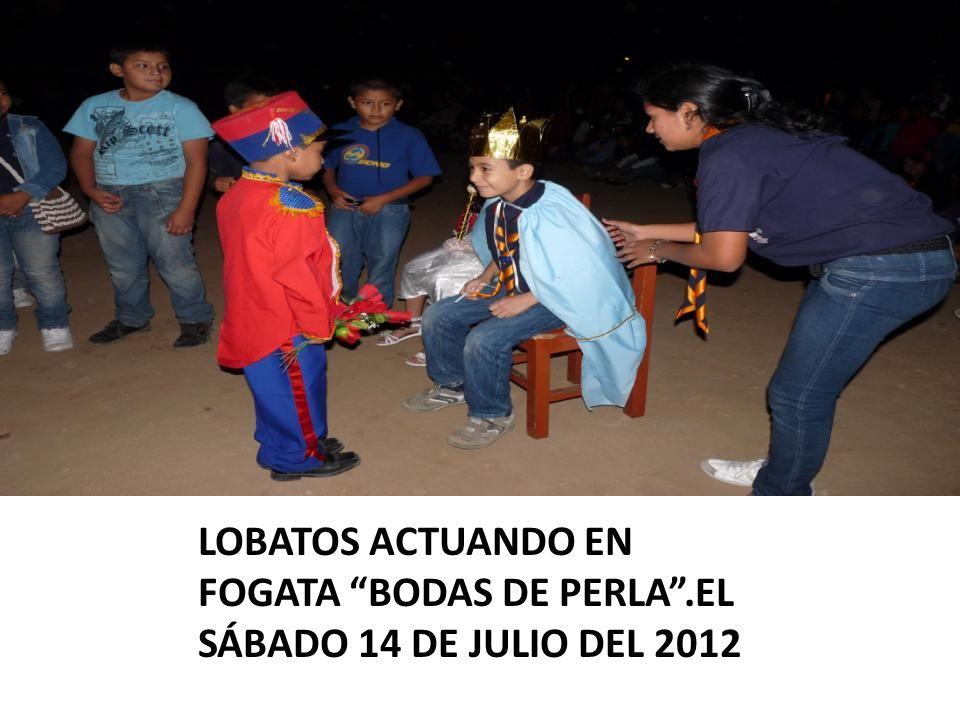 LOBATOS ACTUANDO EN FOGATA BODAS DE PERLA.EL SÁBADO 14 DE JULIO DEL 2012